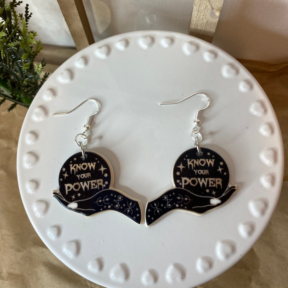Image of Know Your Power Earrings