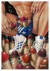 """Mushroom farm 5"" Print (DP408)"