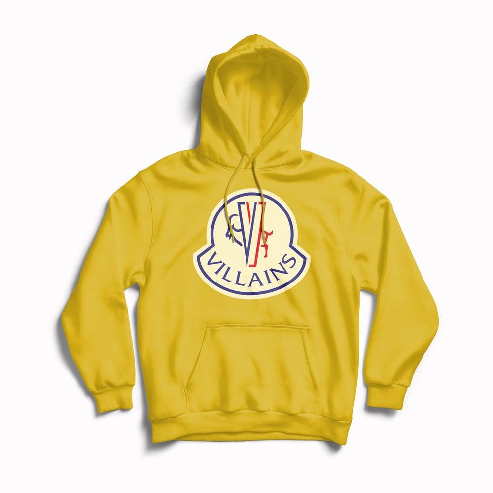 Image of Hoodie MOUNT VILLAINS Yellow