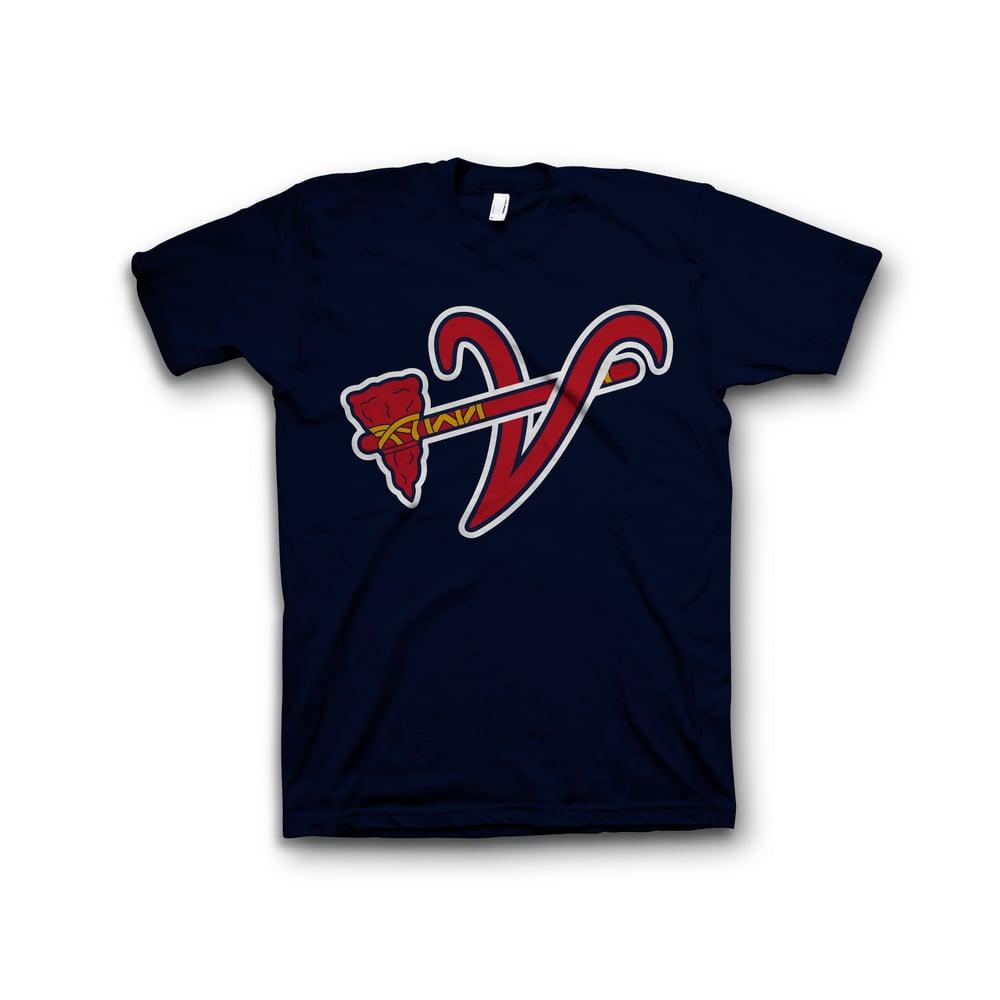 Image of Tee-Shirt BRAVILLAINS Navy