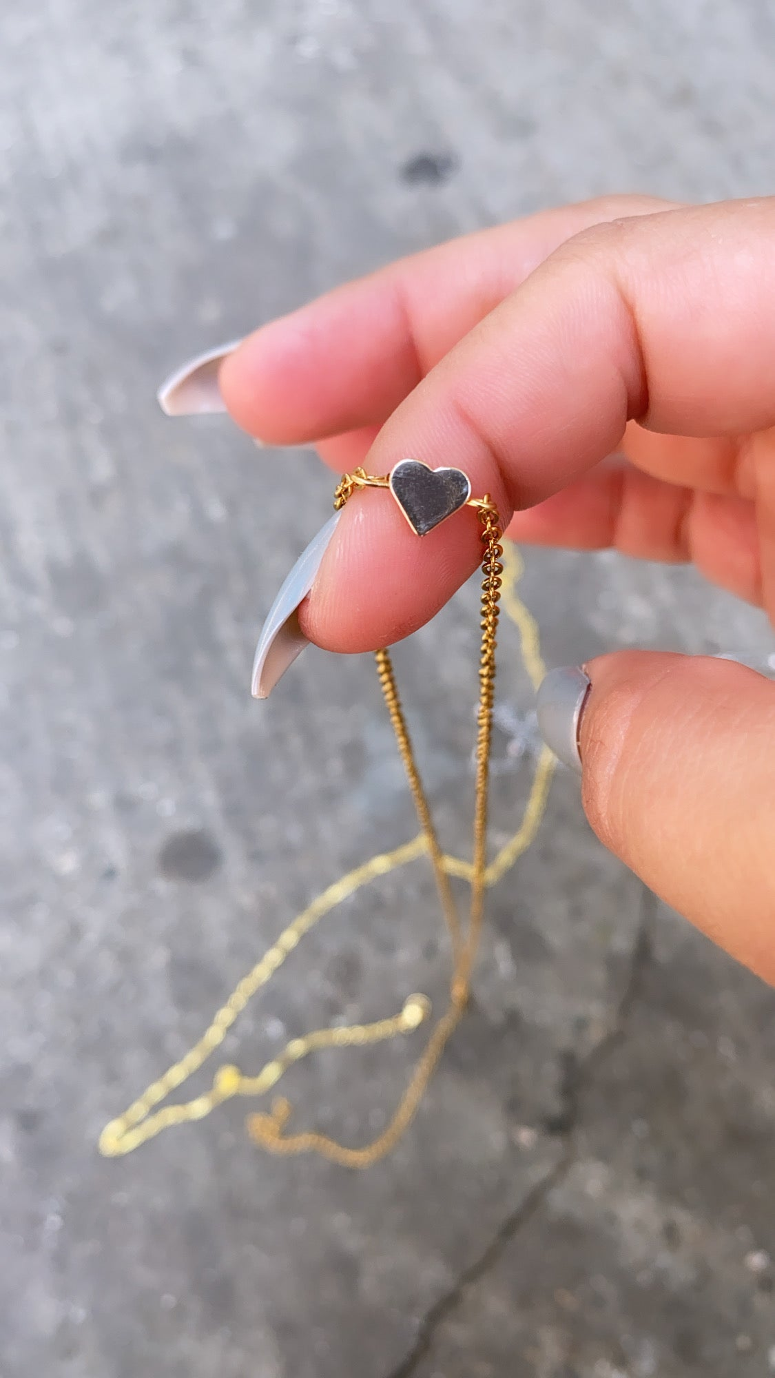 Image of 18k GOLD PLATED HEART WAIST CHAIN   BELLY CHAIN