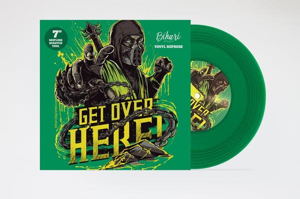 """Image of Get Over Here 7"""" - GREEN by Bihari"""