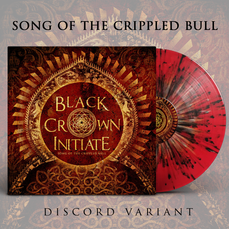 Image of BLACK CROWN INITIATE - Song of the Crippled Bull - LP [Discord]