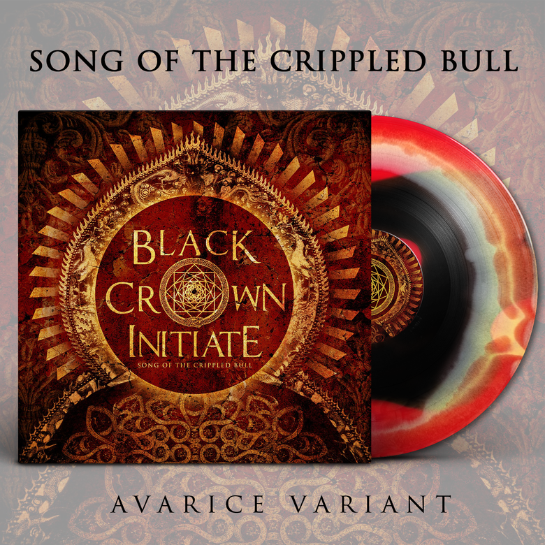 Image of BLACK CROWN INITIATE - Song of the Crippled Bull - LP [Avarice]