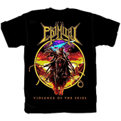 """Image of LTD EDITION Retro """"Yellow"""" VIOLENCE OF THE SKIES T shirt"""