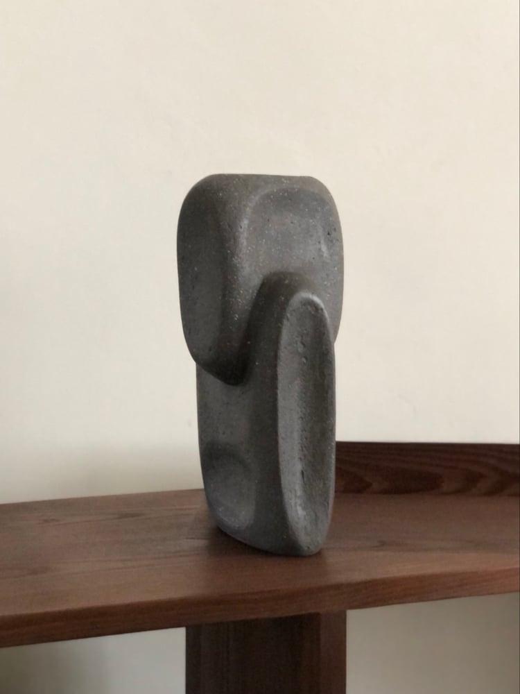 Image of polished concrete sculpture