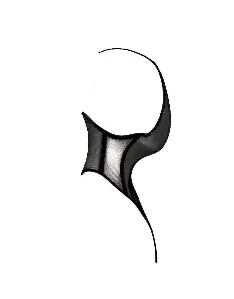 Image of SERPENTINE MASK black