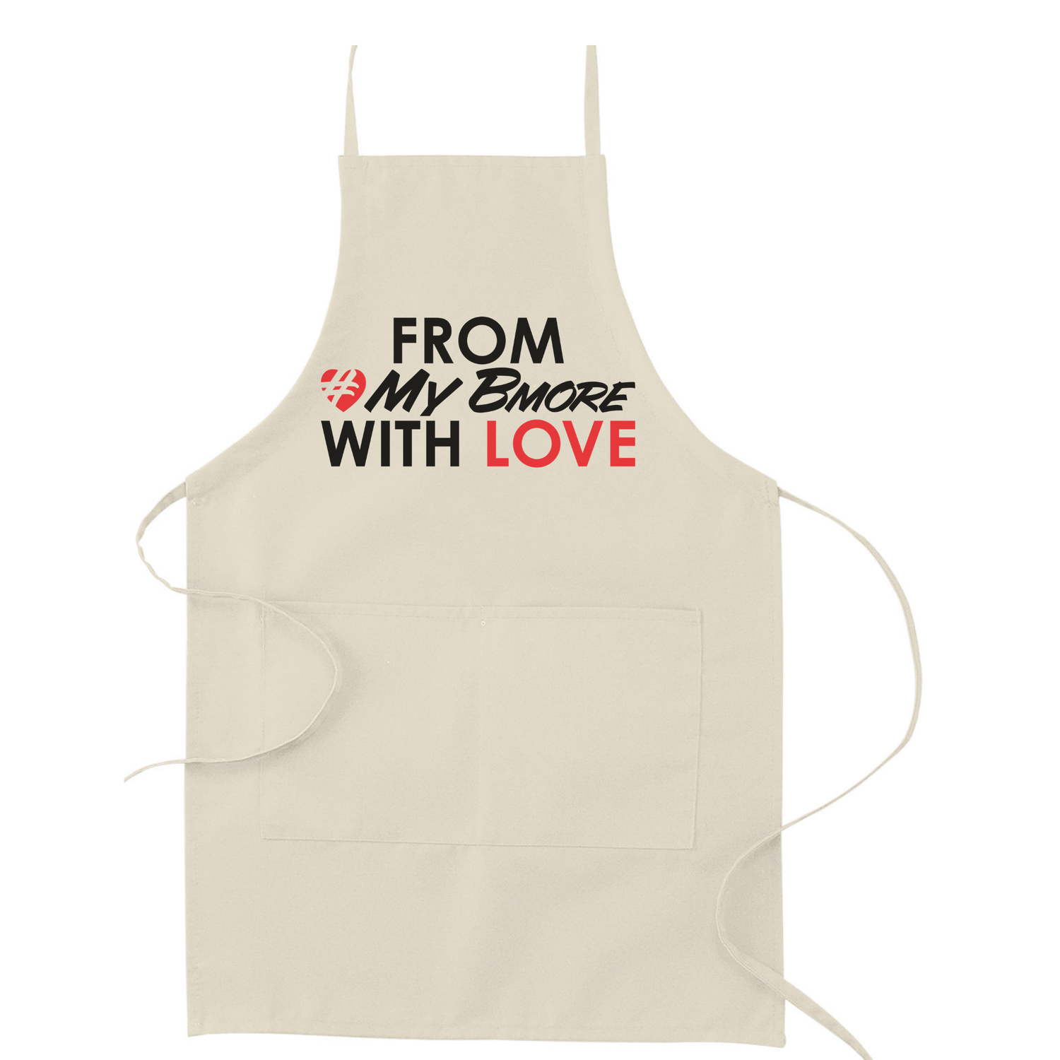 Image of From #MyBmore With Love Apron