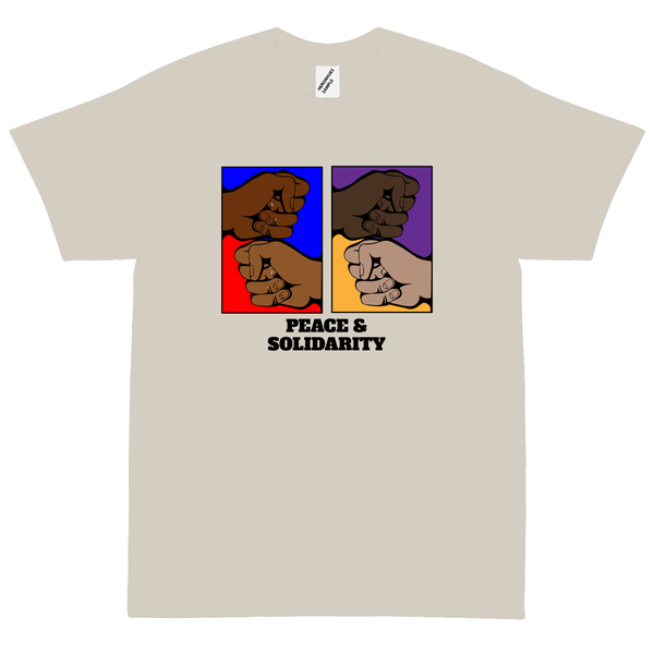 Image of Peace & Solidarity T shirt cement