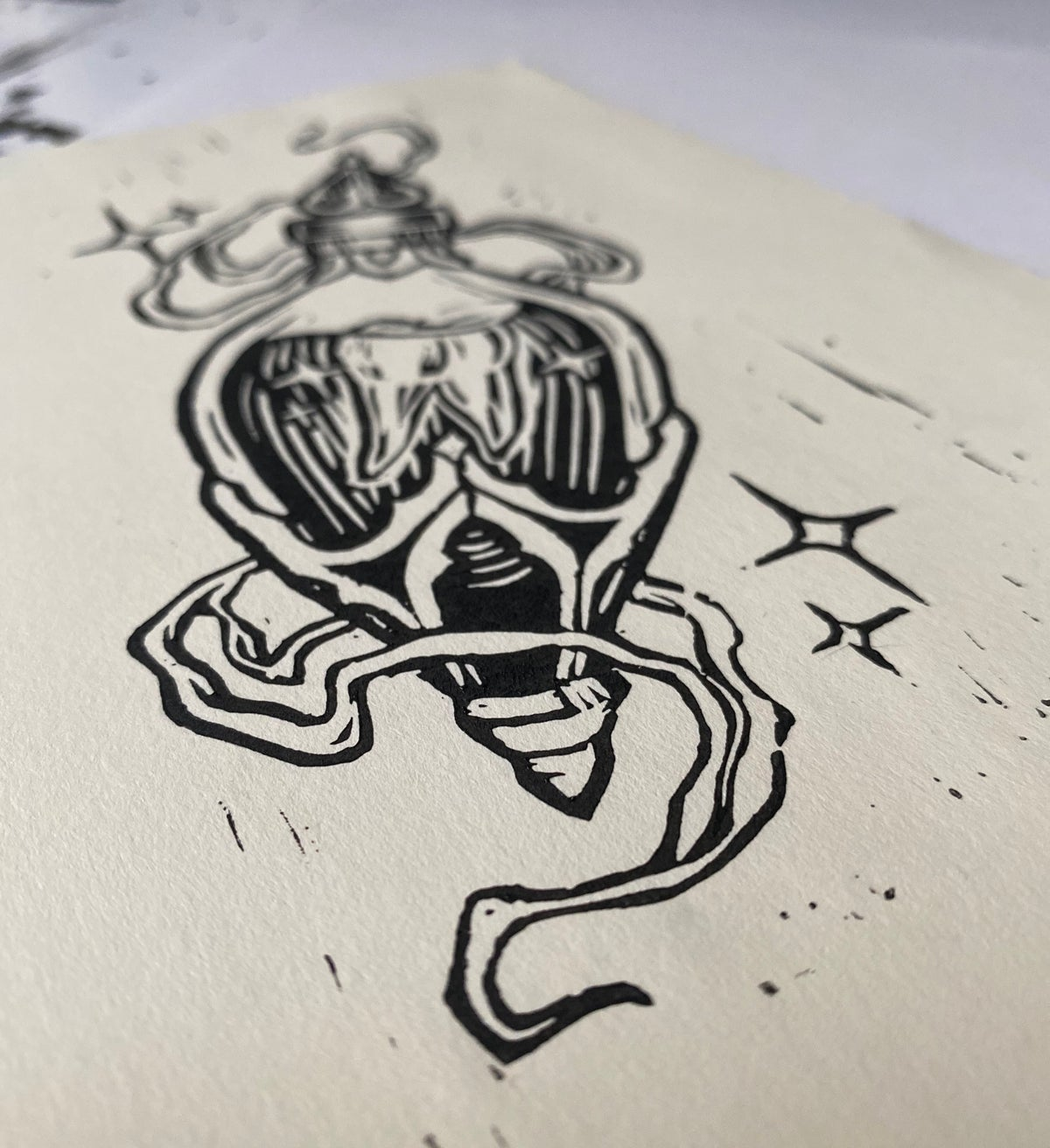 TOOTH POTION - RELIEF PRINT LIMITED EDITION
