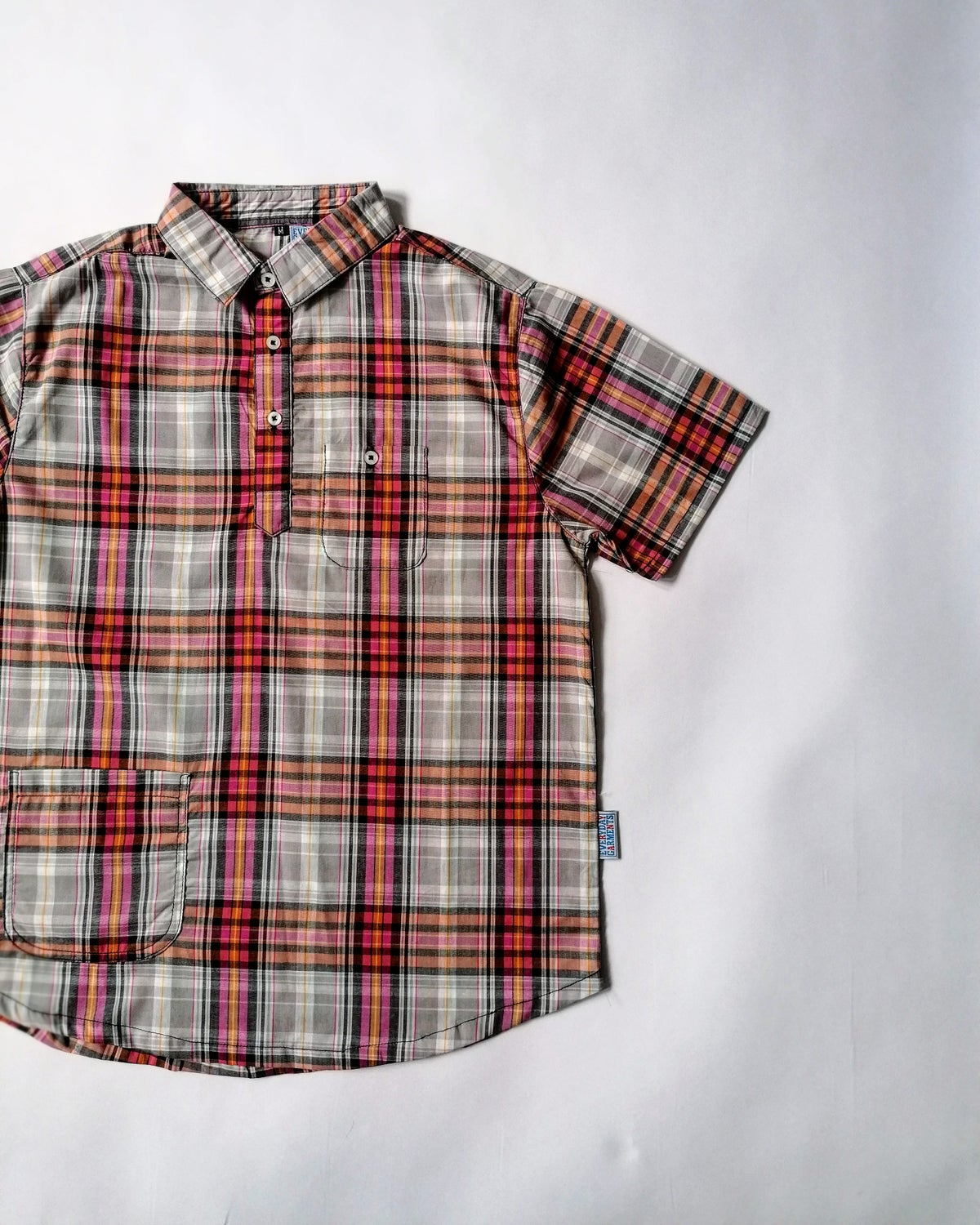 Image of EVERYDAY GARMENTS POPOVER CHECK SHIRTS