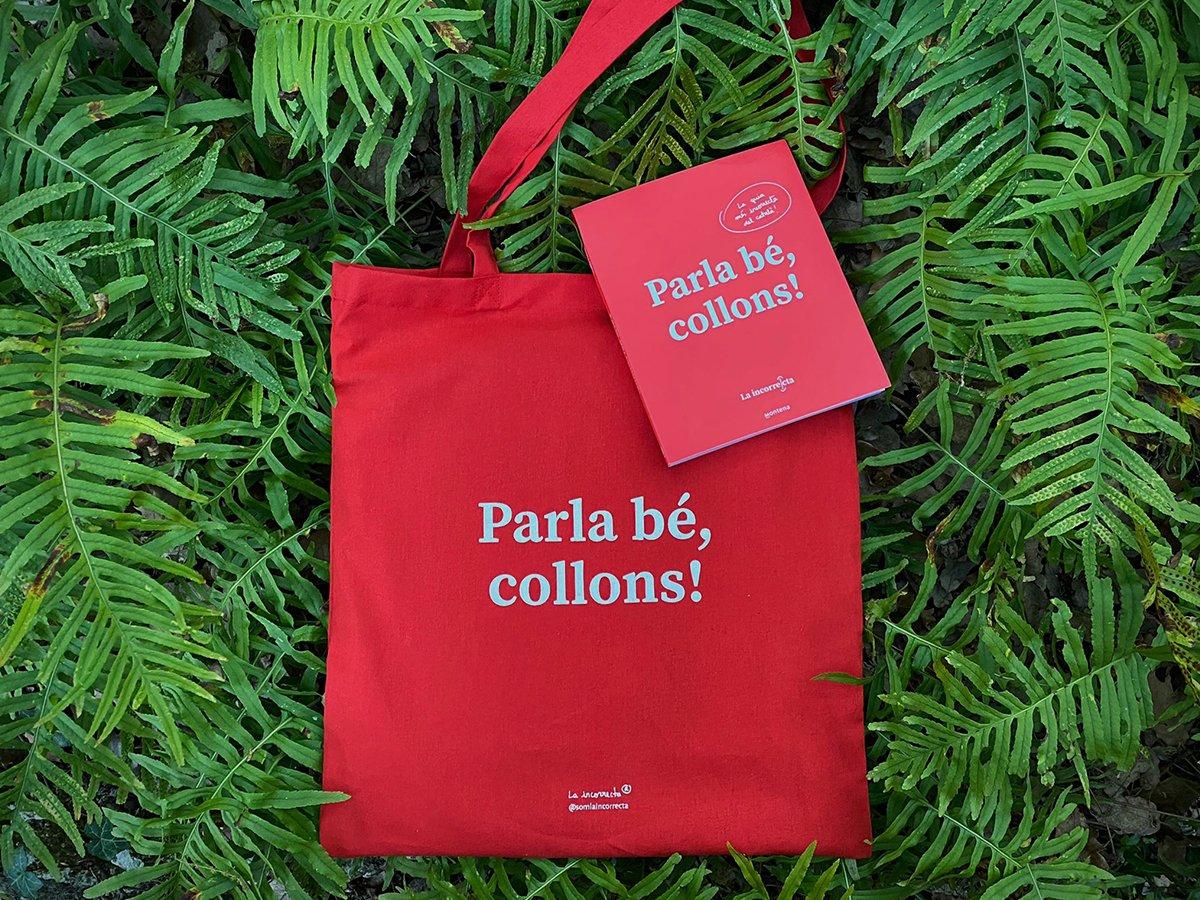 Image of Llibre + bossa - PARLA BÉ, COLLONS!