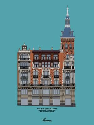 Casa de Allende (fondo color)