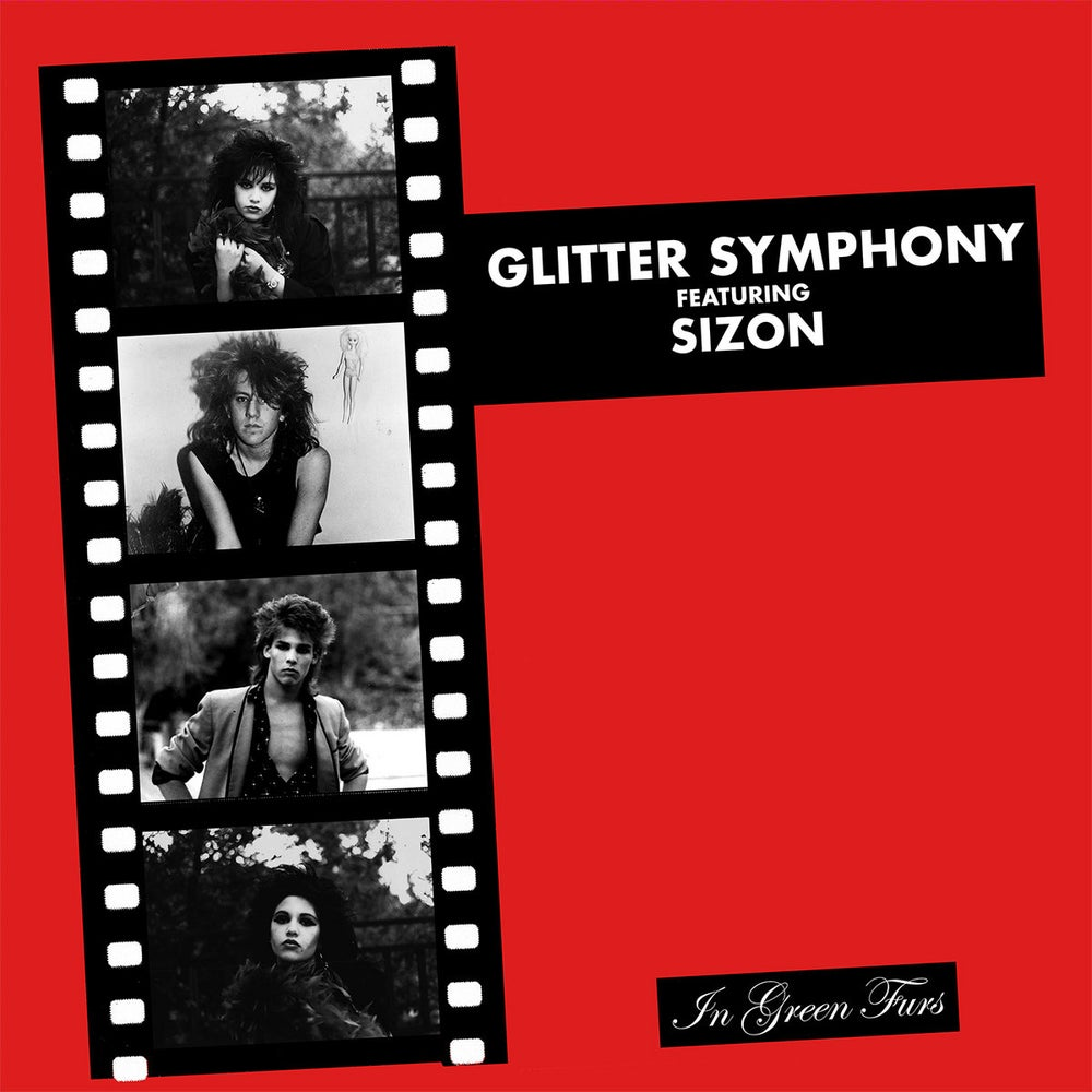 Image of GLITTER SYMPHONY - In Green Furs LP