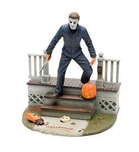 Image of Halloween Michael Myers 1:8 Scale Light-Up Model Kit