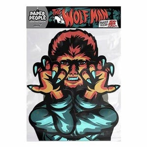 Image of Universal Monsters Wolfman Paper People