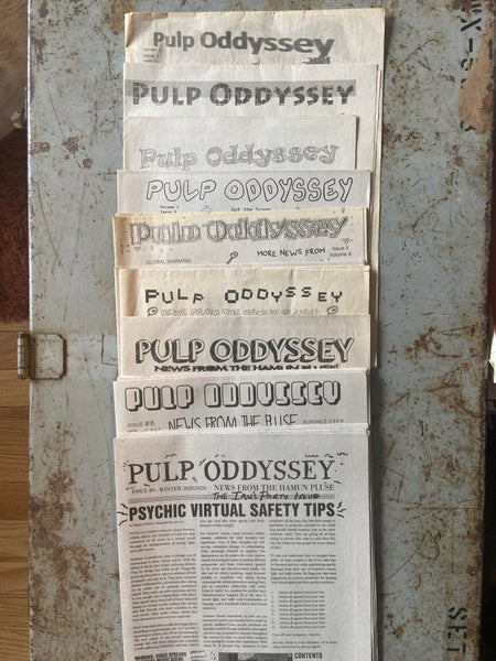 Image of Pulp Oddyssey (Back Issues)