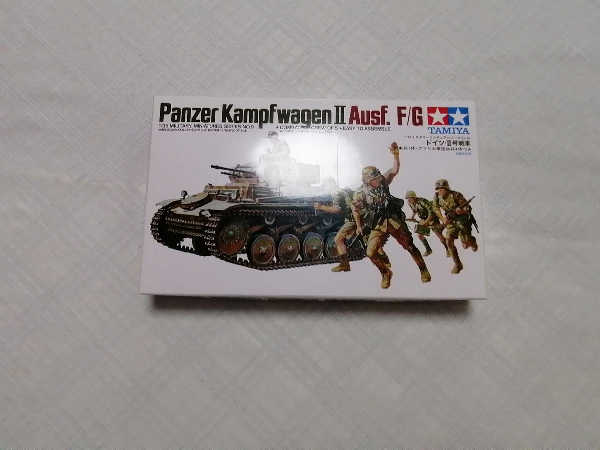 Image of TAMIYA 1/35 PANZER KAMPFWAGEN 2 AUSF.F/G 35009 MM9