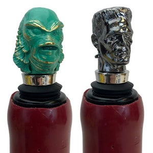 Image of Universal Monsters The Creature and Frankenstein Bottle Stopper Box Set - San Diego Comic-Con 2019 E