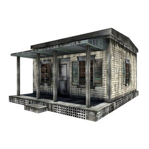 Image of Cabin Pop-Up 1:12 Scale Diorama