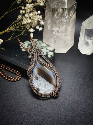 Image of Banded Agate Pendant