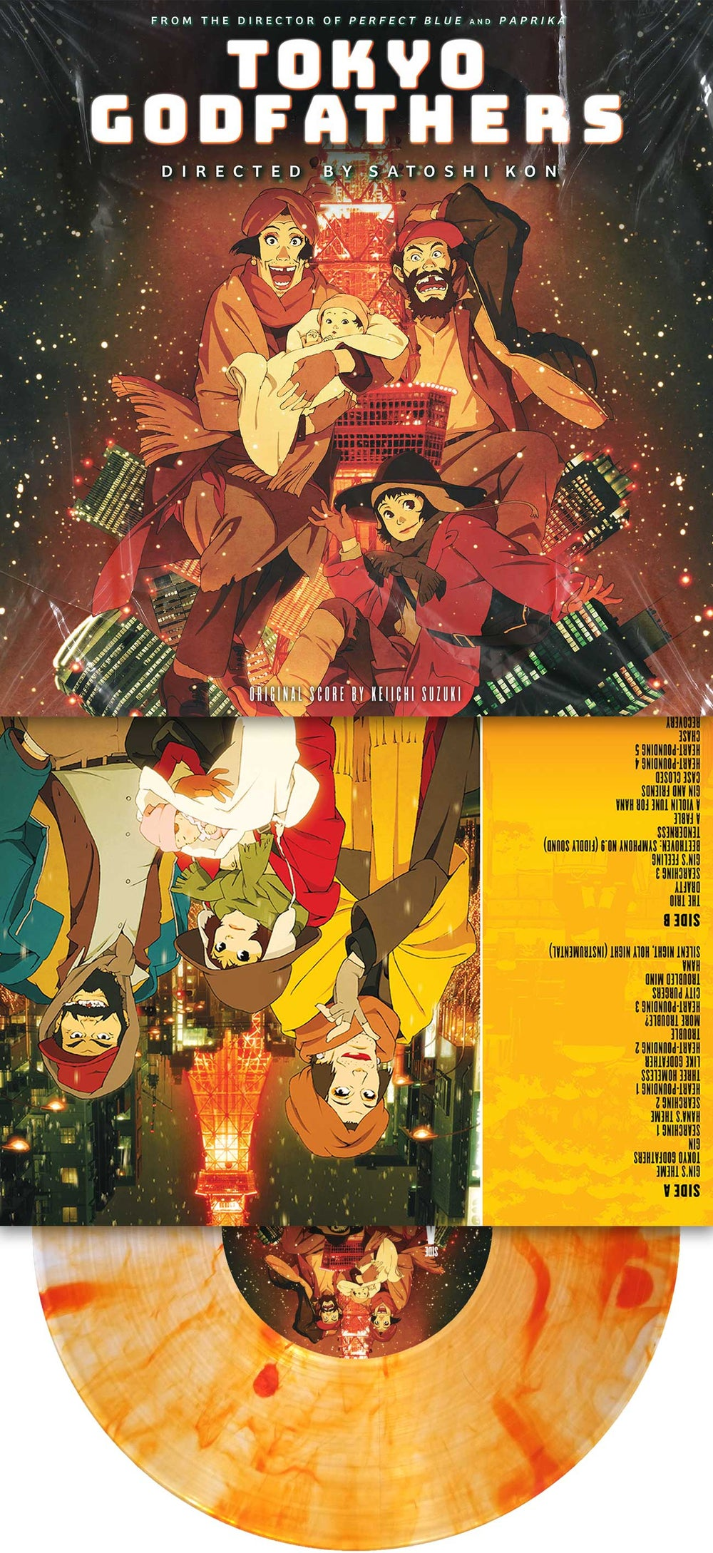 """""""Tokyo Godfathers"""" Limited Edition LP"""