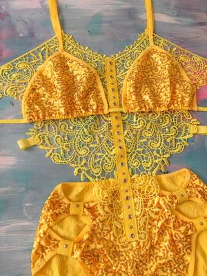 Image of Yellow Mystery bodysuit