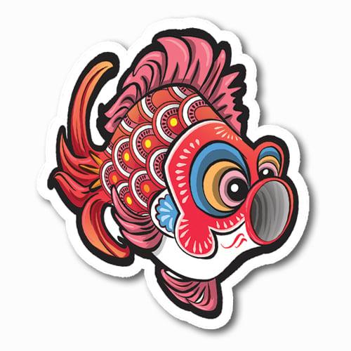 Image of Koinobori [Red] Sticker