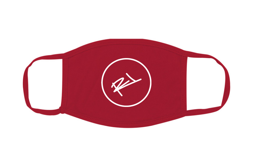 Image of ReL BRAND FACE MASK IN RED