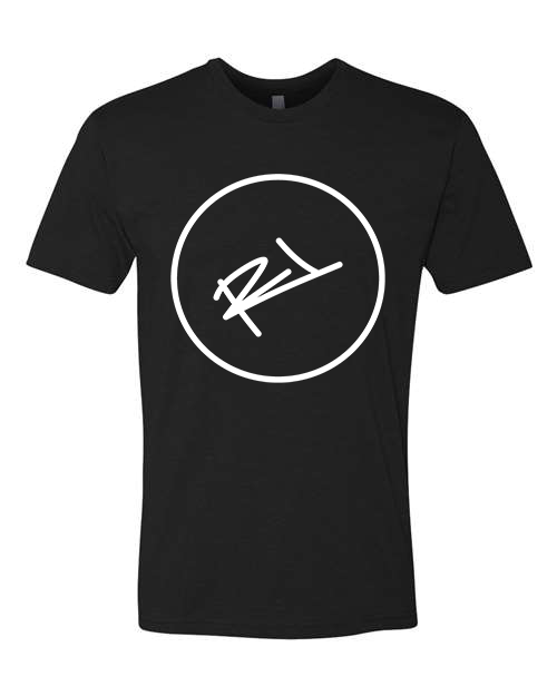 Image of THE ReL BRAND LOGO TEE IN BLACK