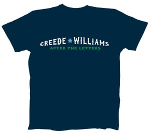 "Image of Men's Navy Blue w/White ""After the Letters"""