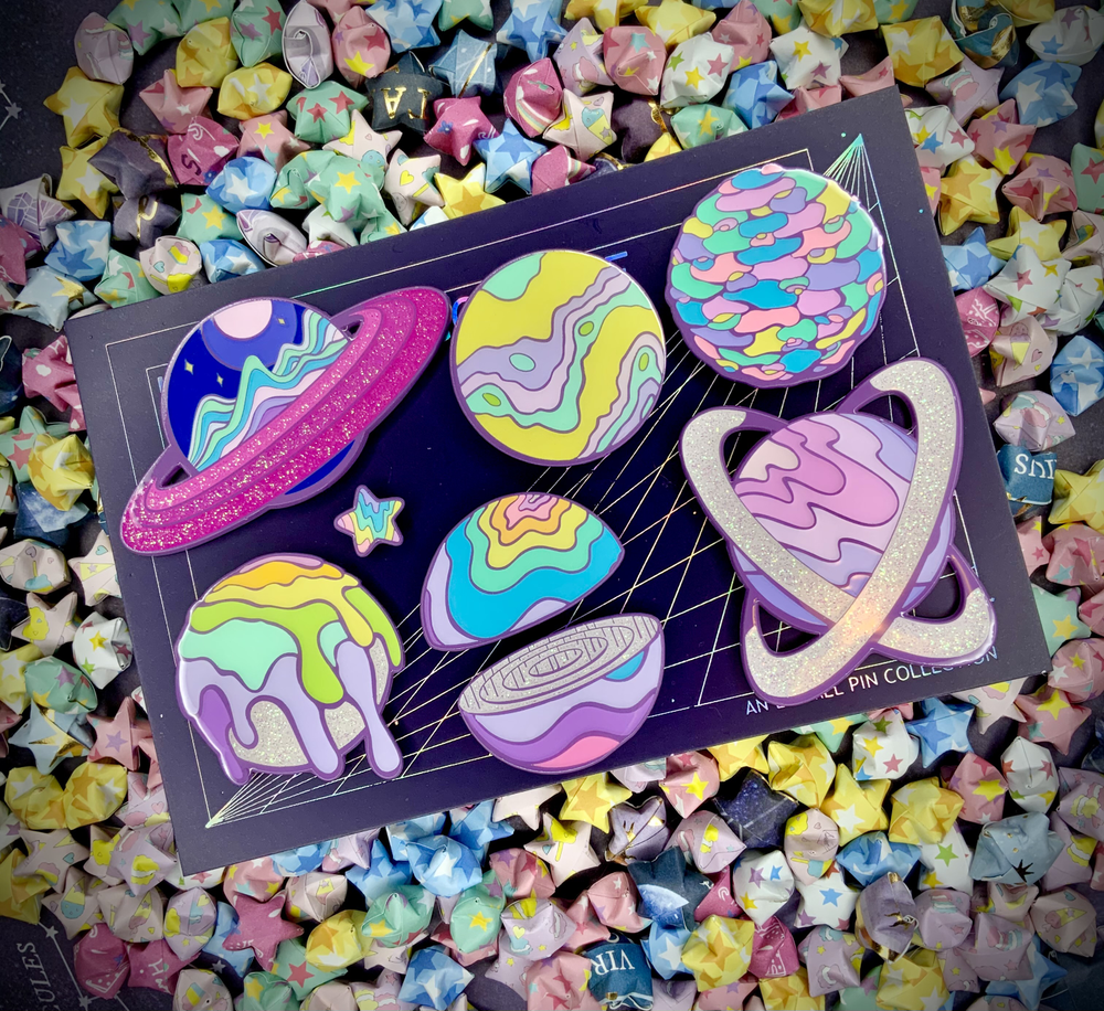 I WANT TO GO HOME - ENAMEL PIN SETS AND SINGLES