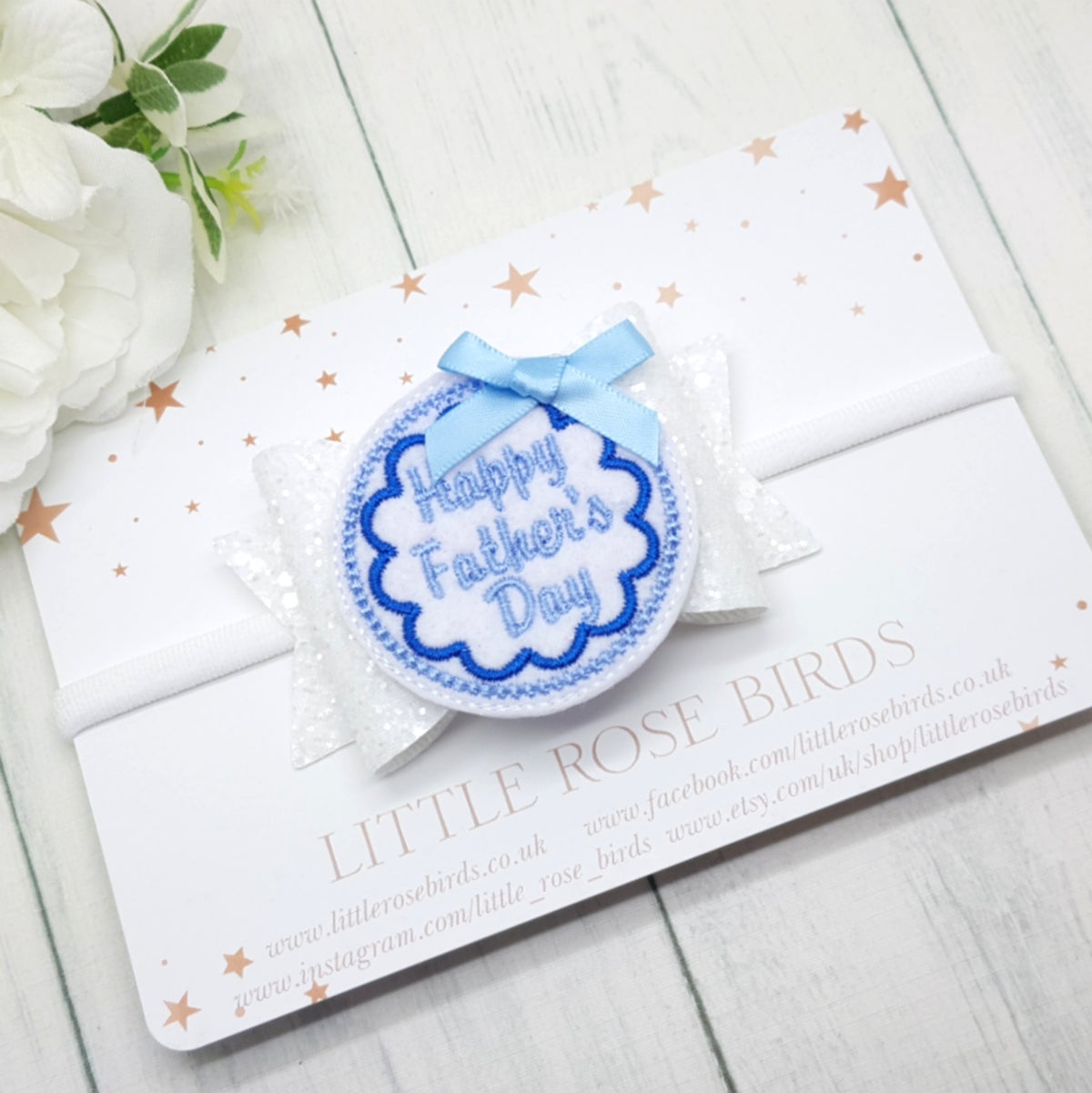 Image of Happy Father's Day Bow