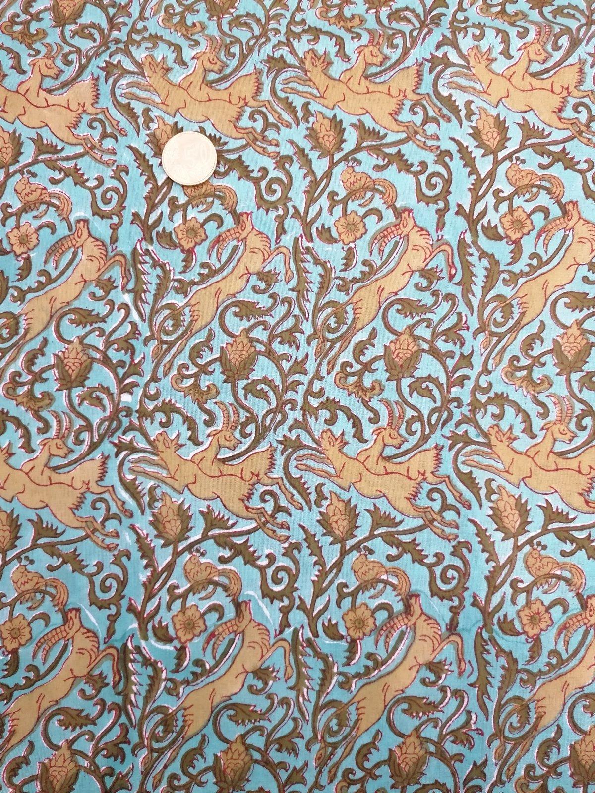 Image of Namasté fabric chamois