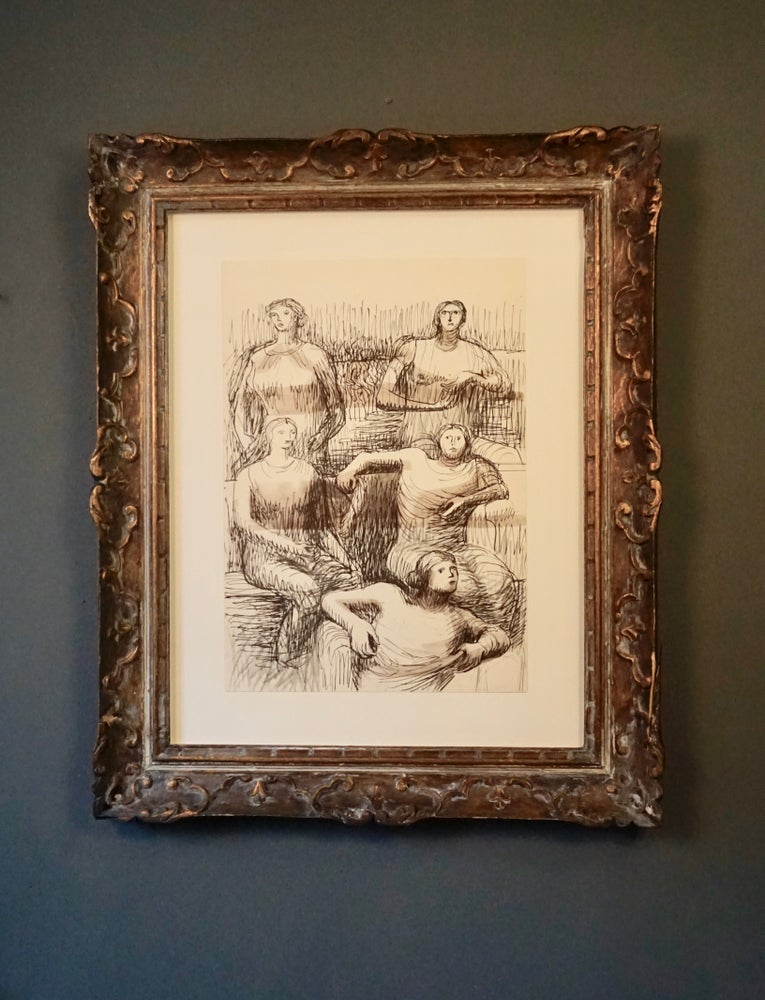 Image of MOORE COLLECTION / five seated figures / 27/013