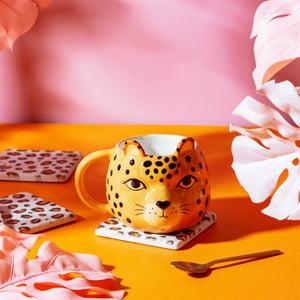 Image of Leopard 3D Porcelain Mug