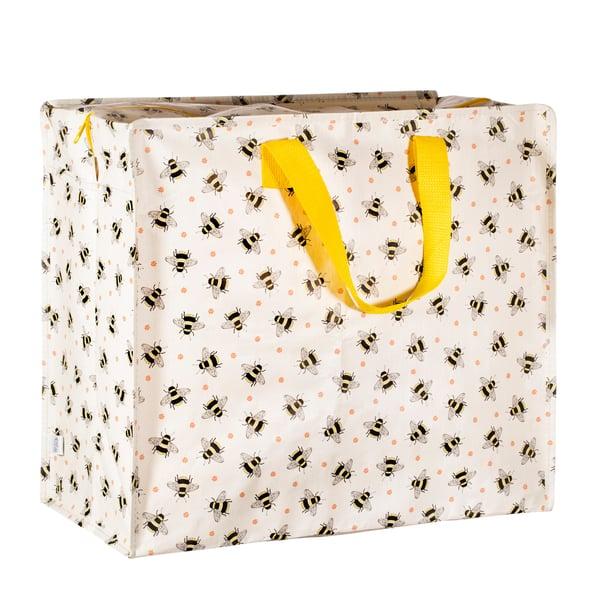 Image of Bumblebee Print Storage Bag