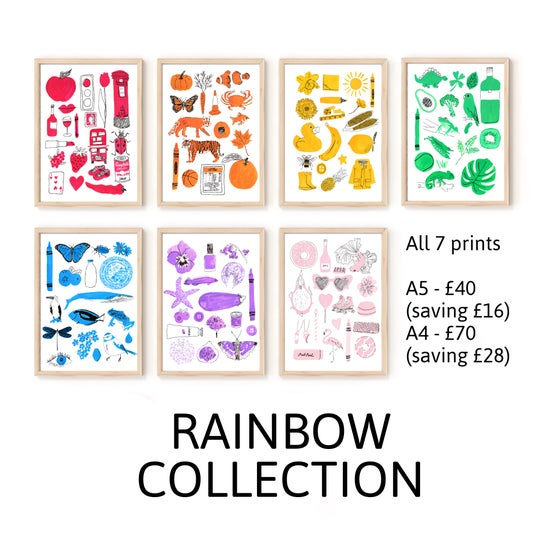 Image of Rainbow Collection - All 7 prints
