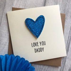 Image of Love You Dad/Daddy Father's Day Card