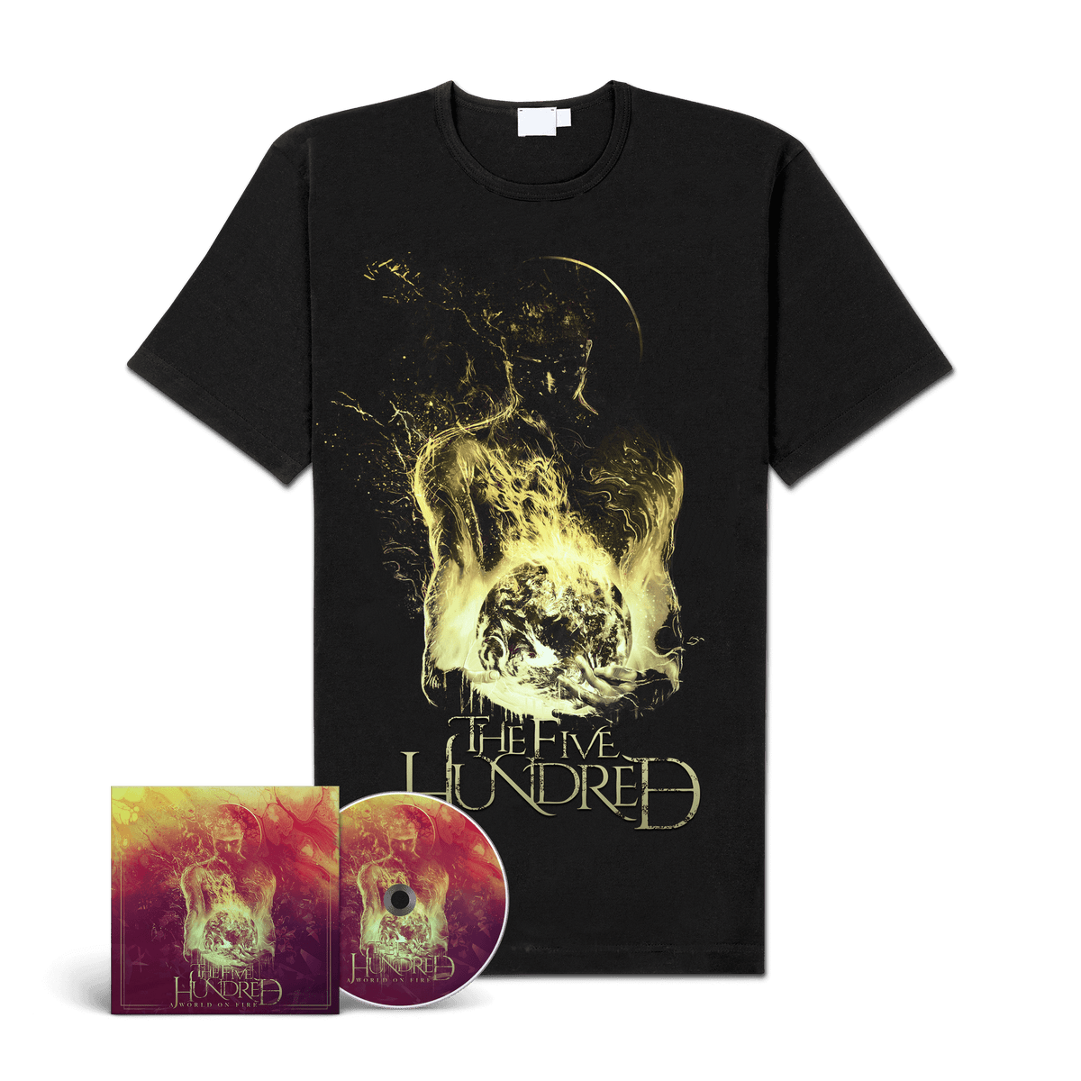 """Image of The Five Hundred """"A World On Fire"""" CD-Bundle"""
