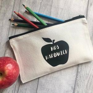 Image of Apple Teacher Pencil Case