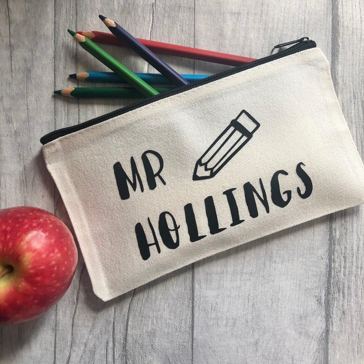 Image of Personalised Teacher Pen/Pencil Case