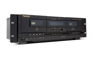 Image of PMD-300CP Dual Cassette Recorder/Player with USB
