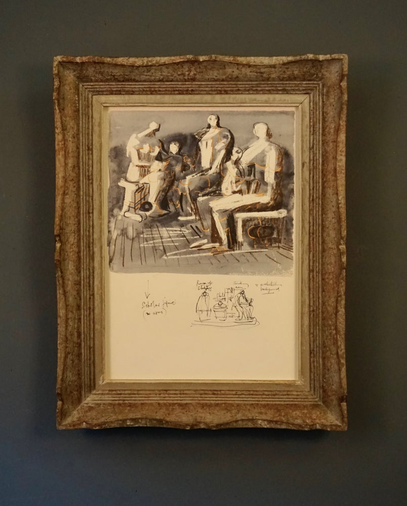Image of MOORE COLLECTION / scholar figure / 27/033