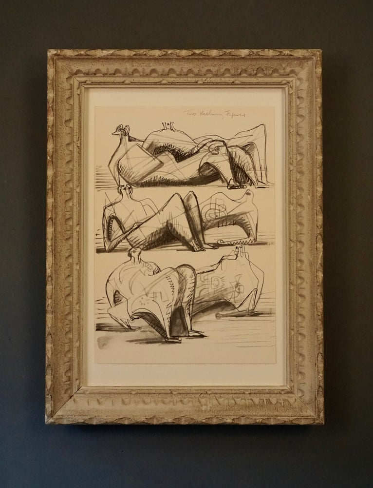 Image of MOORE COLLECTIVE / two reclining figures x three / 27/023