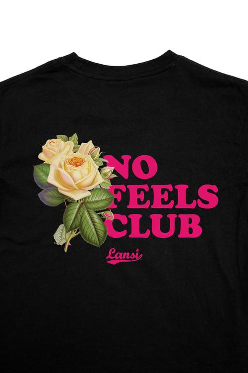 """Image of LANSI """"Emotional Distancing"""" T-shirt (Black)"""