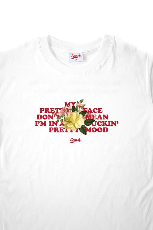 "Image of LANSI ""Pretty Face"" T-shirt (White)"