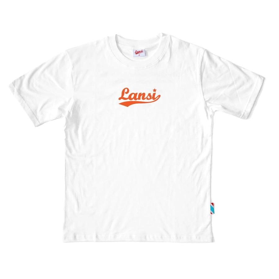 "Image of LANSI ""No Feels Club"" T-shirt (White)"