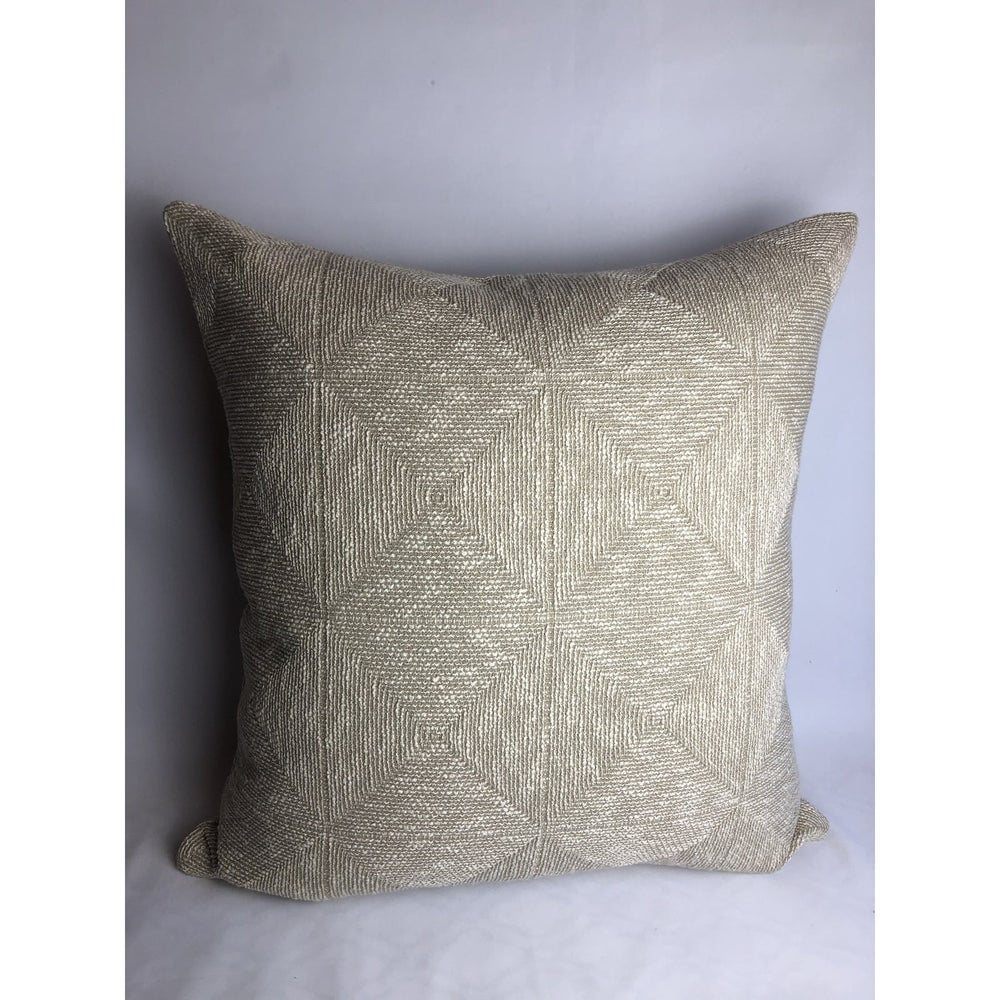 Glant Designer Transitional Texture Fabric Pillow