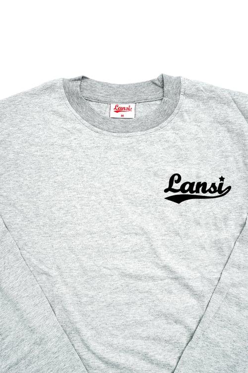Image of LANSI Basic Long-Sleeve Shirt (Melange)